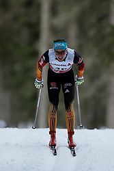 13.12.2014, Davos, SUI, FIS Langlauf Weltcup, Davos, 10 km, Frauen, im Bild Stefanie Boehler (GER) // during Cross Country, 10km, ladies at FIS Nordic world cup in Davos, Switzerland on 2014/12/13. EXPA Pictures © 2014, PhotoCredit: EXPA/ Freshfocus/ Christian Pfander<br /> <br /> *****ATTENTION - for AUT, SLO, CRO, SRB, BIH, MAZ only*****