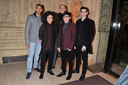 Members of dance group DIVERSITY at Cirque du Soleil's VIP night of Kooza held at the Royal Albert Hall, London on 8th January 2013.