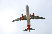 An EasyJet aircraft takes off from London's Gatwick airport on Monday, June 29, 2020. Gatwick Airport is getting ready for more holiday bookings after the Government agreed to open-air corridors to a number of countries a few days after Britain lifted most of the lockdown rules in England. (Photo/ Vudi Xhymshiti)