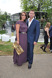 TAMARA ECCLESTONE and ROBERT MONTAGUE at the annual Serpentine Gallery Summer Party sponsored by Canvas TV  the new global arts TV network, held at the Serpentine Gallery, Kensington Gardens, London on 9th July 2009.