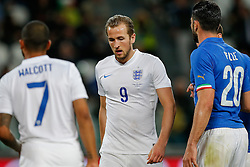 Harry Kane of England looks frustrated after missing with a shot - Photo mandatory by-line: Rogan Thomson/JMP - 07966 386802 - 31/03/2015 - SPORT - FOOTBALL - Turin, Italy - Juventus Stadium - Italy v England - FIFA International Friendly Match.