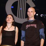 Harpengala 2003, Zilveren Harp winnaar, Within Temptation, Sharon den Adel en Robert Westerholt