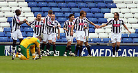 Photo: Mark Stephenson.<br /> West Bromwich Albion v Norwich City. Coca Cola Championship. 27/10/2007.Wesr Brom's Kevin Phillips ( 2ed R ) celebrates his goal and Brom's 2ed with team mates