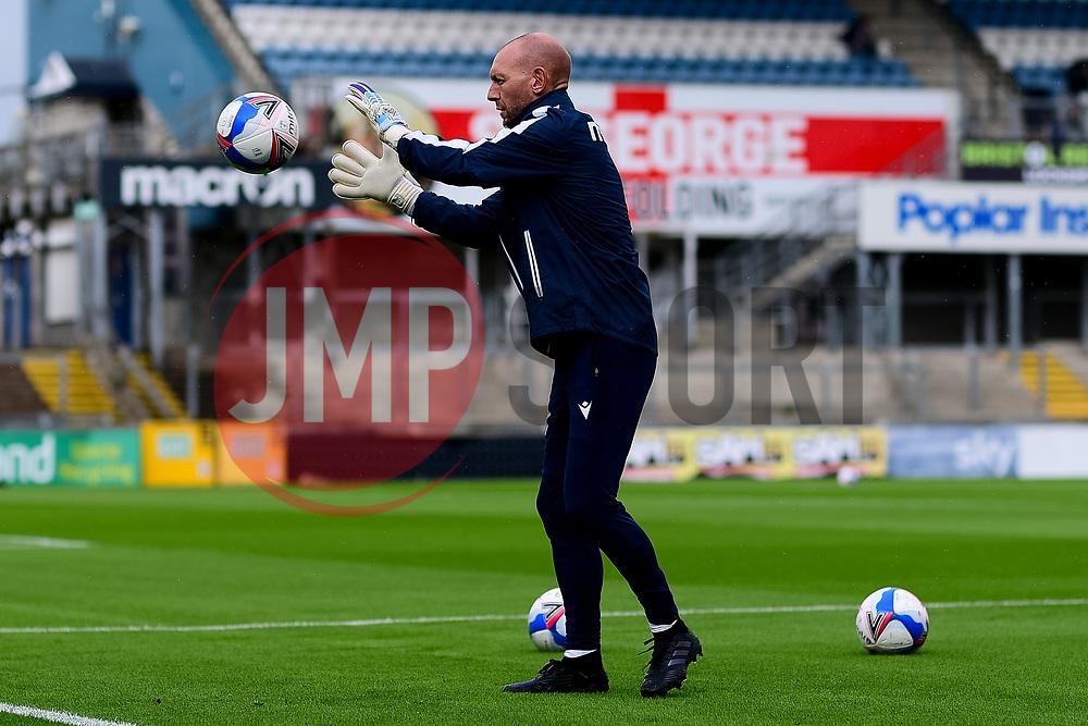 Bristol Rovers goalkeeper coach Adrian Tucker - Mandatory by-line: Ryan Hiscott/JMP - 28/08/2020 - FOOTBALL - Memorial Stadium - Bristol, England - Bristol Rovers v Cardiff City - Pre Season Friendly