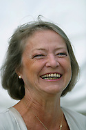 BBC journalist Kate Adie, pictured at the Edinburgh International Book Festival, where she took part in a discussion about war reporting. The book festival was a part of the Edinburgh International Festival, the largest annual arts festival in the world.