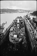 "Ackroyd_15737-25. ""Wisco. New Orleans on drydock. January 15, 1969"" (Swan Island)"