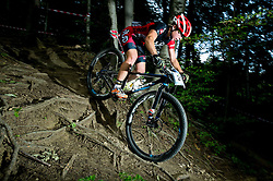 Tanja Zakelj during Cross Country XC Mountain bike race for Slovenian National Championship in Kamnik, on July 12, 2015 in Kamnik,  Slovenia. Photo by Vid Ponikvar / Sportida