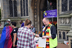 Christians at Pride 2017, Norwich UK, 29 July 2017