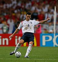 Photo: Glyn Thomas.<br />England v Ecuador. 2nd Round, FIFA World Cup 2006. 25/06/2006.<br /> England's man of the match John Terry.