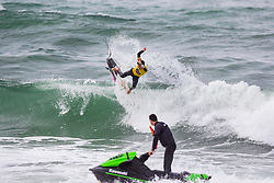 Griffin Colapinto (USA) placed second in the final of the 2018 Redbull Airborne speciality event in Hossegor, France.