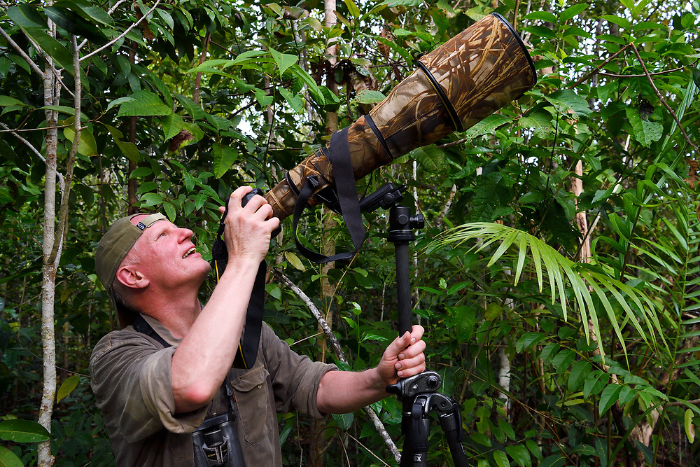 Photographer Staffan Widstrand, Raja Ampat, Western Papua, co-author of the book PAPUA - AMONG BIRDS OF PARADISE AND MANTA RAYS