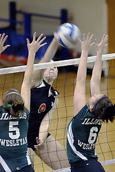 27 October 2006..The match between the Washington University Bears and the Illinois Wesleyan Titans took place at Shirk Center on the IWU campus in Bloomington Illinois.<br />