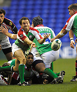 Reading, GREAT BRITAIN, Paul HODGSON, during the third round Heineken Cup game, London Irish vs Ulster Rugby, at the Madejski Stadium, Reading ENGLAND, Sat 09.12.2006. [Photo Peter Spurrier/Intersport Images]