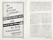 All Ireland Senior Hurling Championship Final,.06.09.1964, 09.06.1964, 6th September 1964,.Minor Cork v Laois, .Senior Kilkenny v Tipperary,  Tipperary 5-13 Kilkenny 2-08,..Belvedere Bond, Ancient Irish Vellum,