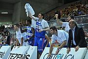 DESCRIZIONE : Verona Lega Basket A2 2011-12 Amichevole Tezenis Verona Enel Brindisi <br /> GIOCATORE : team brindisi<br /> CATEGORIA : esultanza<br /> SQUADRA : Tezenis Verona Enel Brindisi<br /> EVENTO : Campionato Lega A2 2011-2012<br /> GARA : Tezenis Verona Enel Brindisi<br /> DATA : 11/12/2011<br /> SPORT : Pallacanestro <br /> AUTORE : Agenzia Ciamillo-Castoria/M.Gregolin<br /> Galleria : Lega Basket A2 2011-2012 <br /> Fotonotizia : Verona Lega Basket A2 2011-12 Amichevole Tezenis Verona Enel Brindisi<br /> Predefinita :