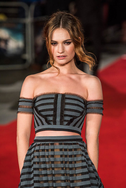 Lily James - The European premiere of Pride and Prejudice and Zombies.