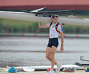 Eton Dorney, United Kingdom,  GBR LM1X Jamie KIRKWOOD. FISA World Cup II, Dorney Lake. Thursday  20/06/2013 Berkshire.  [Mandatory Credit Peter Spurrier/ Intersport Images]
