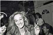 Sasha Nott s. April ball, Campden Palace. April 1982.