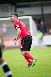 Brechin City's Paul McLean. Brechin City 0 v 4 Inverness Caledonian Thistle, Scottish Championship game played 26/8/2017 at Brechin City's home ground Glebe Park.