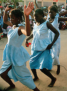 Dancers at an event in Podor Senegal