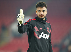 February 27, 2019 - London, England, United Kingdom - Manchester United's Sergio Romero.during English Premier League between Crystal Palace and Manchester  United at Selhurst Park stadium , London, England on 27 Feb 2019. (Credit Image: © Action Foto Sport/NurPhoto via ZUMA Press)