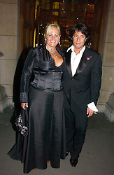 MR & MRS LAURENCE LLEWELLYN-BOWEN, he is the interior designer at the Biba Ball in aid of Clic Sargeant held at the Victoria & Albert Museum, London on 11th May 2006.<br /><br />NON EXCLUSIVE - WORLD RIGHTS