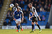 Notts County midfielder Liam Noble (18) during the EFL Sky Bet League 2 match between Chesterfield and Notts County at the b2net stadium, Chesterfield, England on 25 March 2018. Picture by Jon Hobley.