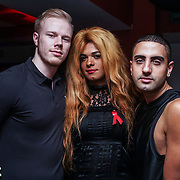 Britain Got Talent Beyonce Aaron Carty, The Beyoncé Experience attend the World AIDS Day Extravaganza at Muse Soho,London,UK one night to help raise money for GMFA – The gay men's health charity and their HIV prevention and stigma-challenging work on 1st December 2016 in Soho,London,UK. Photo by See Li