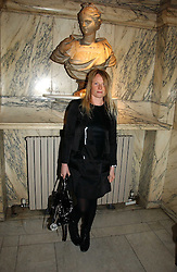 LUELLA BARTLEY at the British Fashion Awards 2006 sponsored by Swarovski held at the V&A Museum, Cromwell Road, London SW7 on 2nd November 2006.<br />