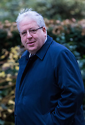 London, December 05 2017. Chairman of the Conservative Party Patrick McLoughlin arrives at 10 Downing Street to attend the weekly cabinet meeting. © Paul Davey