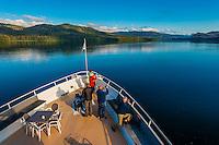 Wilderness Explorer ship, Krestof Sound,  Inside Passage, Southeast Alaska USA.