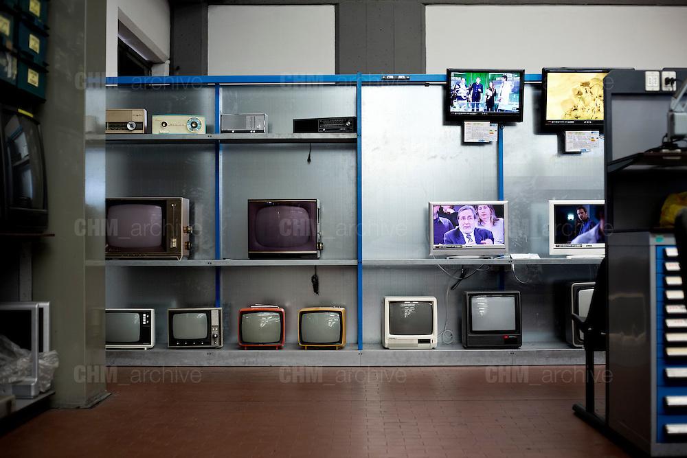 L'interno della fabbrica Mivar, Abbiategrasso 18 marzo 2014. Guido Montani / OneShot