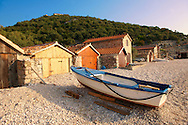 Beli harbour, Cres Island, Croatia .<br /> <br /> Visit our CROATIA HISTORIC SITES PHOTO COLLECTIONS for more photos to download or buy as wall art prints https://funkystock.photoshelter.com/gallery-collection/Pictures-Images-of-Croatia-Photos-of-Croatian-Historic-Landmark-Sites/C0000cY_V8uDo_ls