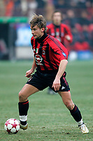 Milano 16-01-2005<br /> <br /> Campionato  Serie A Tim 2004-2005<br /> <br /> Milan Udinese 3-1<br /> <br /> Milan Andriy Shevchenko<br /> <br /> <br /> <br /> Foto Branch/ Graffiti