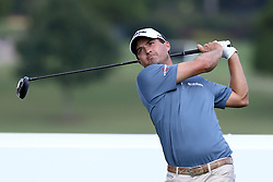 September 22, 2017 - Atlanta, Georgia, United States - Kevin Kisner tees off the 16th hole during the second round of the TOUR Championship at the East Lake Club. (Credit Image: © Debby Wong via ZUMA Wire)