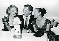 1955 Constance Moore & Dorothy Jameson at the Mocambo Nightclub in West Hollywood