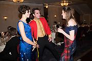 IONA HORTON; ED THORNTON; TATIANA BELL, 4The Royal Caledonian Ball 2017, Grosvenor House, 29 April 2017