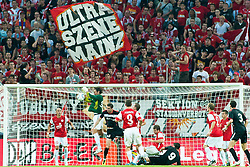 28.07.2011, Coface Arena, Mainz, GER, UEFA Europa League, Mainz 05 vs CS Gaz Metan Medias, im Bild Heinz Mueller (Mainz #33) hat den Ball sicher // during the GER, UEFA Europa League, Mainz 05 vs CS Gaz Metan Medias on 2011/07/28, Coface Arena, Mainz, Germany. EXPA Pictures © 2011, PhotoCredit: EXPA/ nph/  Roth       ****** out of GER / CRO  / BEL ******
