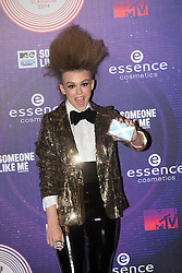 Tallia Storm.<br /> Red carpet at the MTV EMA, Glasgow.