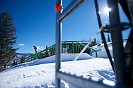 Billy Morgan during Snowboard Slopestyle Eliminations at 2014 X Games Aspen at Buttermilk Mountain in Aspen, CO. ©Brett Wilhelm/ESPN