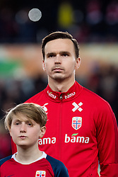 March 26, 2019 - Oslo, NORWAY - 190326 Ole Kristian Selnæs of Norway ahead of the UEFA Euro qualifier football match between Norway and Sweden on March 26, 2019 in Oslo..Photo: Jon Olav Nesvold / BILDBYRÃ…N / kod JE / 160435 (Credit Image: © Jon Olav Nesvold/Bildbyran via ZUMA Press)