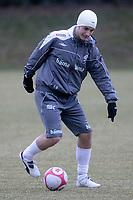 Fotball<br /> 25.03.2009<br /> Norge på treningsleir i Tyskland før kampen mot Sør-Afrika<br /> Frankfurt<br /> Foto: Alfred Harder/Digitalsport<br /> NORWAY ONLY<br /> <br /> Tore Reginiussen