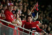 norwegische Fans in der Wankdorfhalle. © Manu Friederich/EQ Images