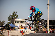 #278 (RAMIREZ YEPES Carlos Alberto) COL during practice at Round 9 of the 2019 UCI BMX Supercross World Cup in Santiago del Estero, Argentina