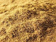 Ground Cumin powder - stock photos