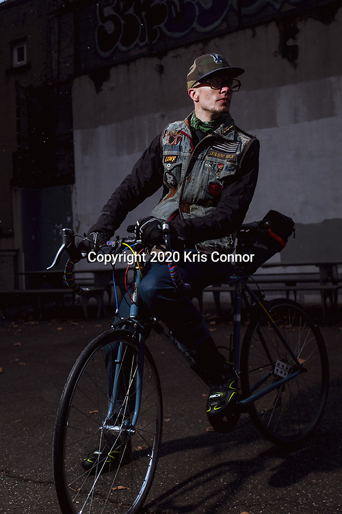 Drew Bly, New York City, December 16, 2020. Photo by Kris Connor.