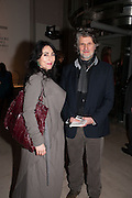 PAUL BENNEY; RENATE DANOBEITIA , Valentino: Master of Couture - private view. Somerset House, London. 28 November 2012