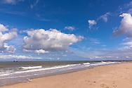 the beach in Domburg on the peninsula Walcheren, Zeeland, Netherlands.<br /> <br /> Strand von Domburg auf Walcheren, Zeeland, Niederlande.