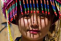 Local Lisu woman, Tongbiguan Nature Reserve, Dehong, Yunnan, China