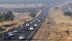 South Africa - Pretoria - 1 June 2020 - Early morning traffic on the R80.<br /> Picture: Jacques Naude/African News Agency (ANA)